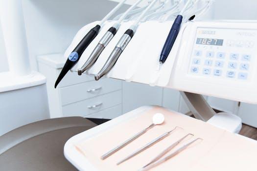 orthodontist and dental equipment